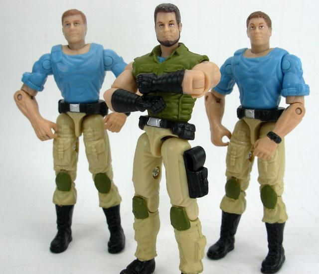 Joe COBRA 6 Pack Toys R Us EXCLUSIVE Plague Troopers vs Steel Brigade 2006 G.I