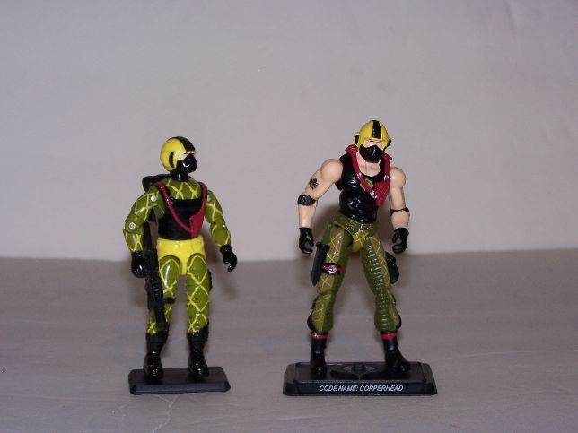 GI Joe 25th Anniversary Python Patrol Copperhead READ!!!