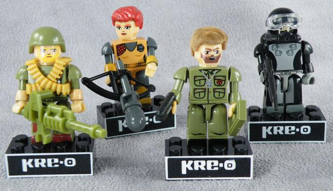 KRE-O Ninja Viper Series 1 Minifig GI Joe Kreo