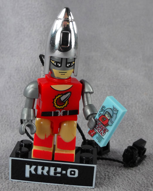 Kreo Gi Joe Series wave  5 DIALTONE Minifigure Complete Loose