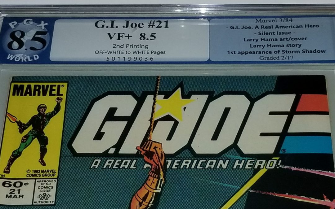 The mystery of G.I. Joe #21 2nd Printing – SOLVED