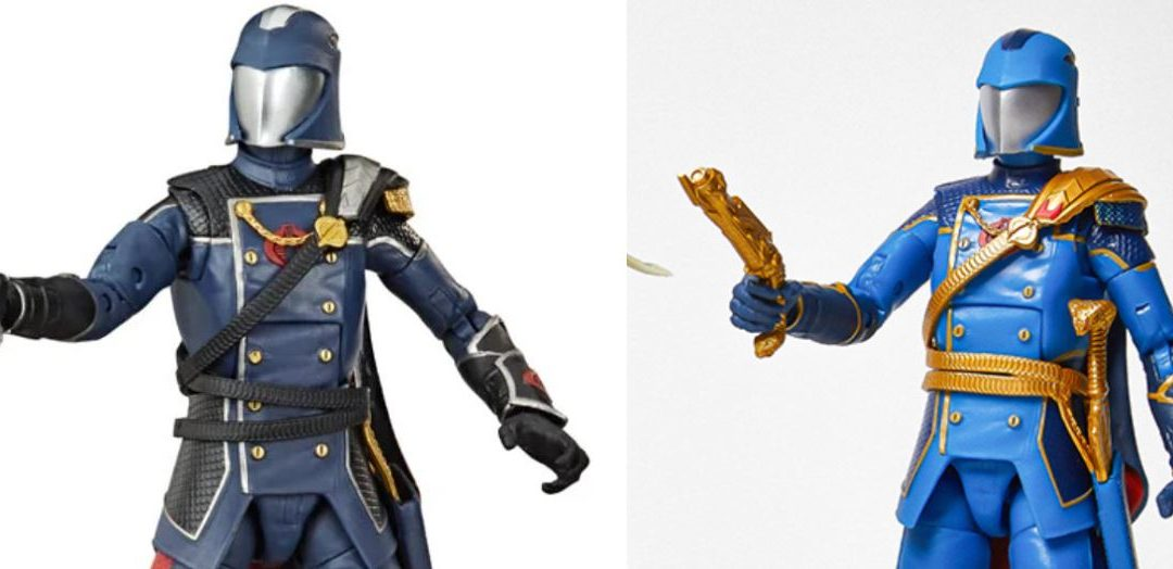 G.I. Joe: Classified COBRA Commander revealed – but what's with the deco?